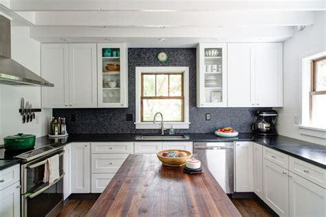 black or white kitchen cabinets sumptuous penny backsplash technique other metro
