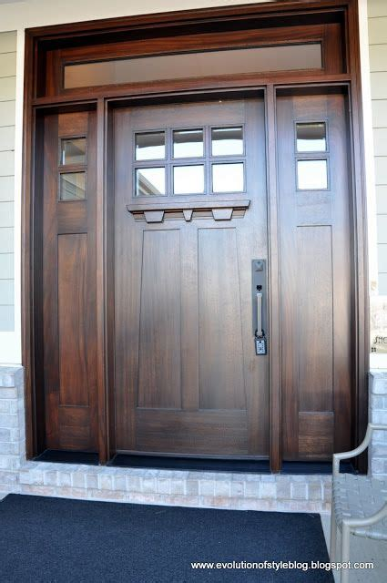 interior door styles for homes beautiful craftsman style front door home entry