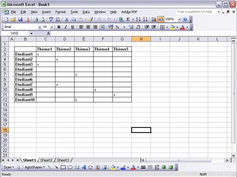 Resume Fair Exle by Comment 233 Diter Des Documents Excel Avec Moodle Le