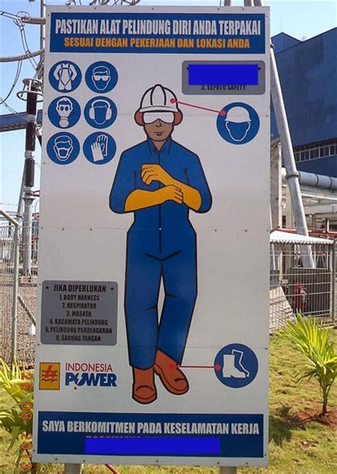 Helm Wijaya safety sign proyek rambu safety sign surabaya