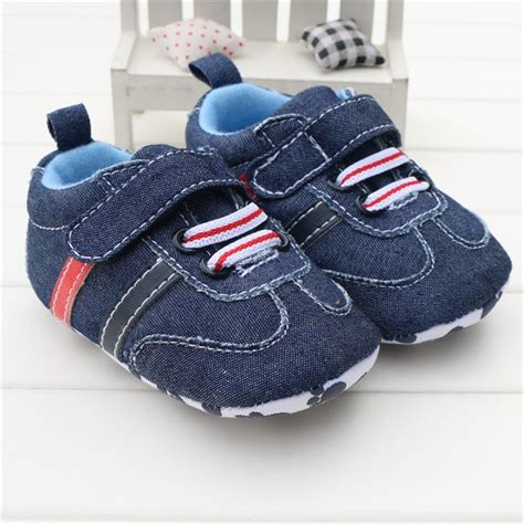 navy blue shoes for toddler toddler infant baby boy shoes navy blue denim buckle