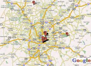 Atlanta Area Map by Atlanta Area Zip Code Map Quotes
