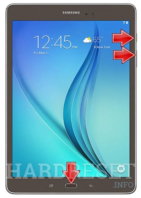 reset samsung view samsung t555 galaxy tab a 9 7 quot lte how to hard reset my