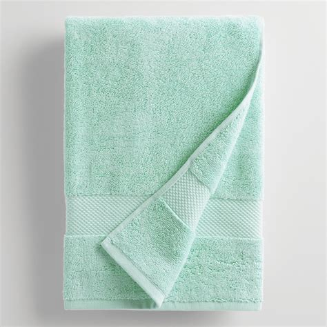 aqua towels bathroom aqua mist bath towel world market