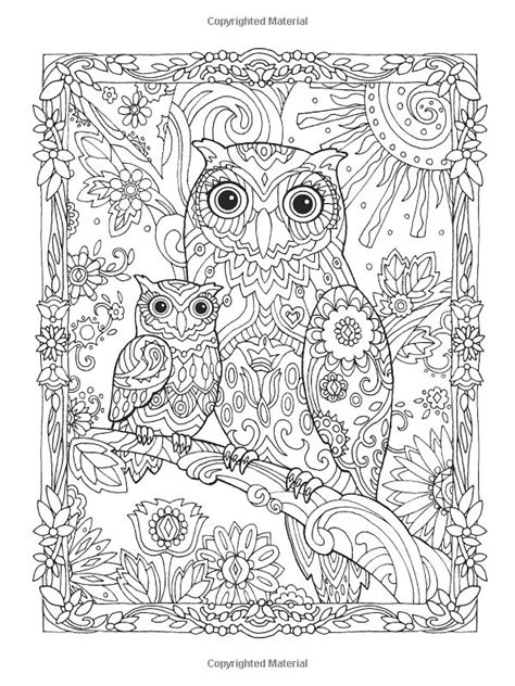 intricate owl coloring pages 103 best images about coloring pages detailed big kids