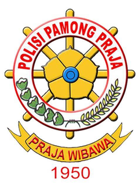 Kepala Gesper Logo Satpol Pp polisi pamong praja satuan polisi pamong praja kabupaten lung barat