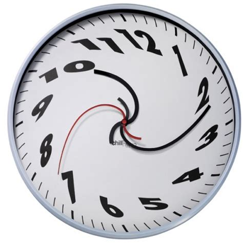dali clock is surreally awesome craziest gadgets