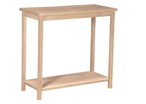 unfinished accent table international concepts portman accent table unfinished