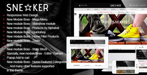 wordpress themes jewelry store opencart fashion shoes store sneaker by tvlgiao