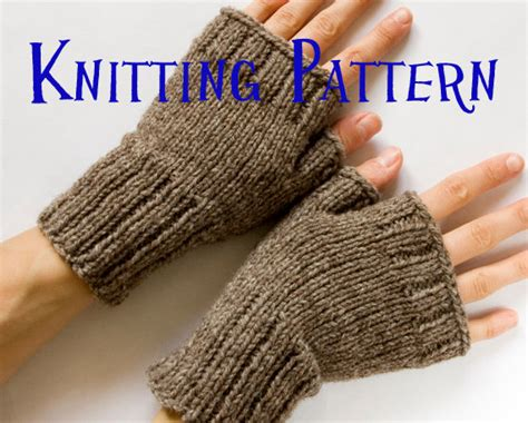 knitting pattern for childrens gloves with fingers instant pdf knitting pattern fingerless mittens
