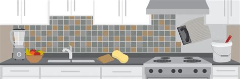tiling kitchen backsplash how to tile your kitchen backsplash in one day fix com