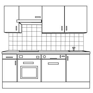 kitchen layout clipart kitchen clipart kitchen design pencil and in color