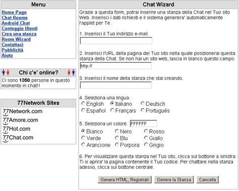 chat mobile senza registrazione incontrissimi chat gratis senza registrazione java