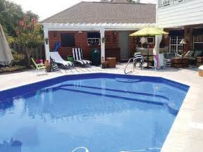Small Backyard Makeover 51 Best Images About Swimming Pools On Pinterest Vinyls