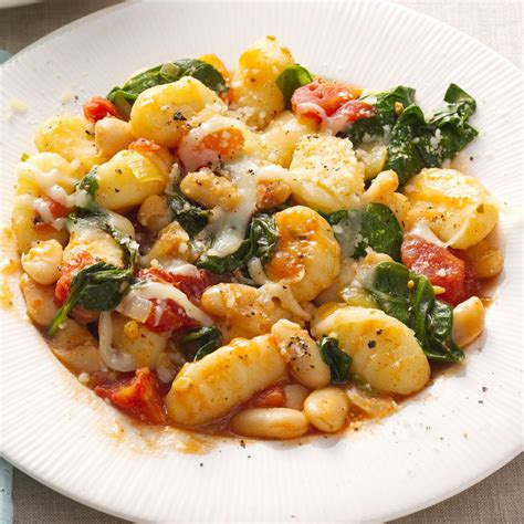 gnocchi with white beans recipe taste of home