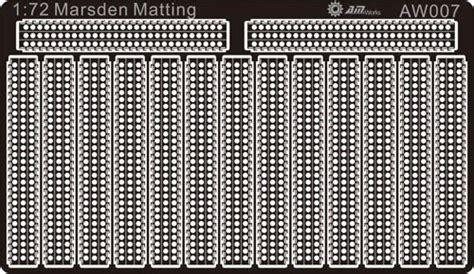 Marsden Matting by Alliance Model Works 1 72 Marsden Matting P S P Plates
