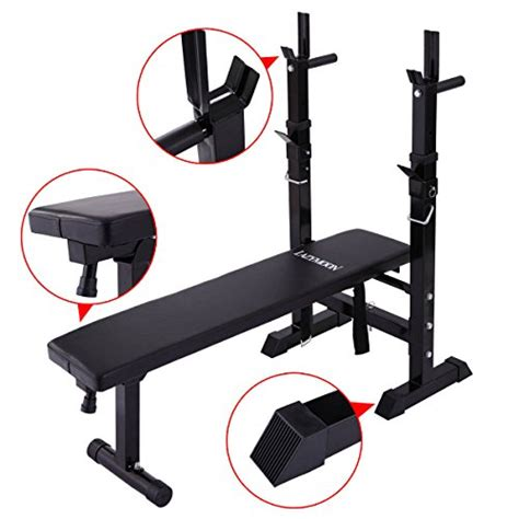 workout bench academy jaxpety adjustable folding weight lifting flat incline