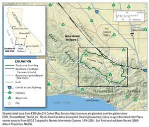 california science center map cuyama valley study overview usgs california water
