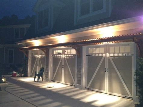 reader built trellis  garage doors woodwork city