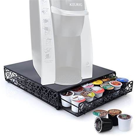 Keurig Coffee Drawer by Home It 42 K Cup Storage Holder Drawer For Keurig K Cup