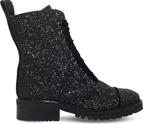 sparkle boots kg by kurt geiger sparkle glitter boots in black lyst