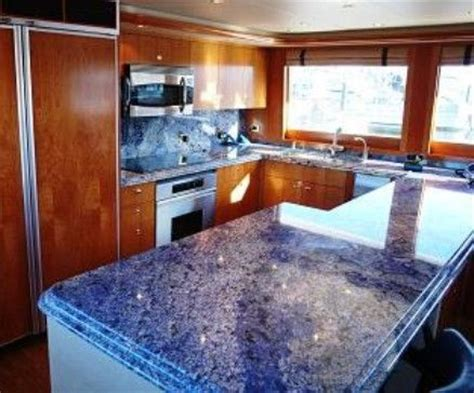 Blue Countertop Kitchen Ideas 17 Best Images About Blue Kitchens On Blue Granite Recycled Materials And