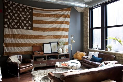 American Home Interior 10 Ways To Bring Patriotic Touches Into Your Home Freshome