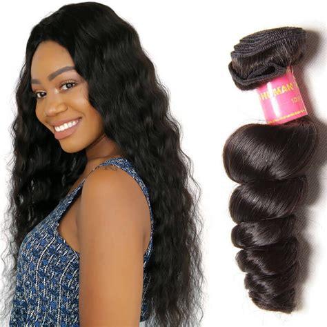pics of brazilian loosewave nadula soft virgin brazilian loose wave hair 1 bundle