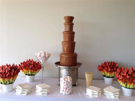 chocolate fountain hire choc fountains sydney