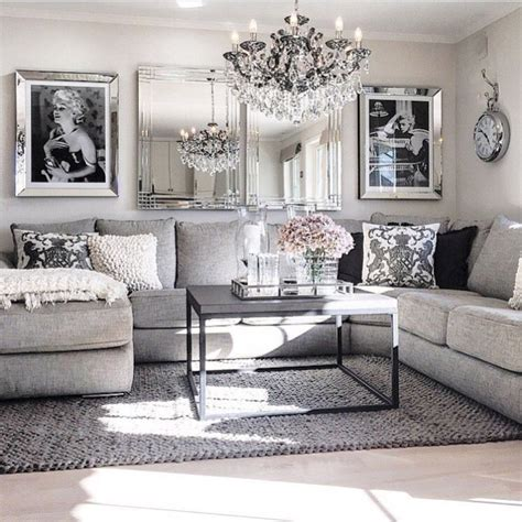 home decorating ideas for living room modern glam living room decorating ideas 19 homadein