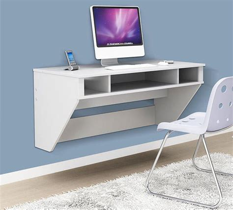 Wall Hanging Computer Desk Space Saver 22 Wall Mounted Desks To Buy Or Diy Brit Co