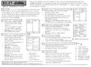thorough guide to the bullet journal system tiny ray of