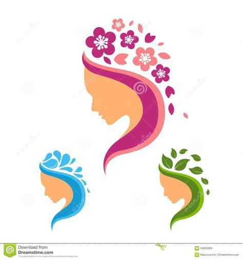 Beleza Set belleza logo set ilustraci 243 n vector imagen de pelo