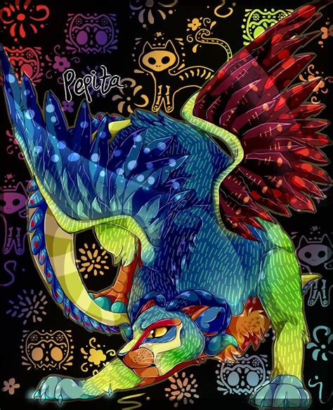 imagenes guia espiritual alebrije pepita from coco dibujos2 pinterest coco