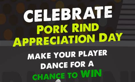 About Com Sweepstakes Ending Soon - rudolph foods gridiron groovin cash sweepstakes