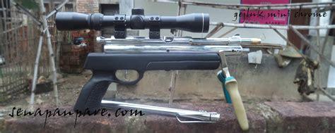 Pompa Sepeda Mini Bison senapan pcp junior senapan pare
