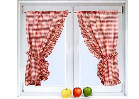 rideaux bonne femme cuisine rideau bonne femme vichy 224 volant frou frou et