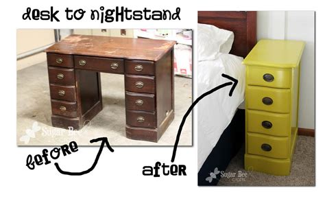 Desk As Nightstand by Desk Turns Into New Nightstands Homejelly