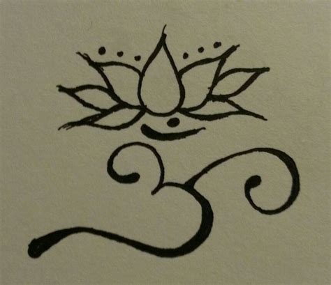om lotus tattoo design rp88 tattoo pinterest