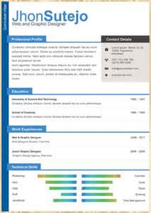 eye catching resume templates free