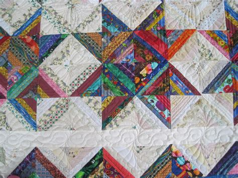 Quilting Scraps by Finely Finished Quilts Scrap Quilts
