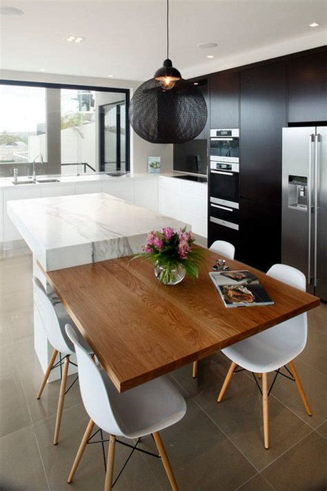 Modern Kitchen Island Table by 25 Best Ideas About Modern Kitchen Design On Pinterest