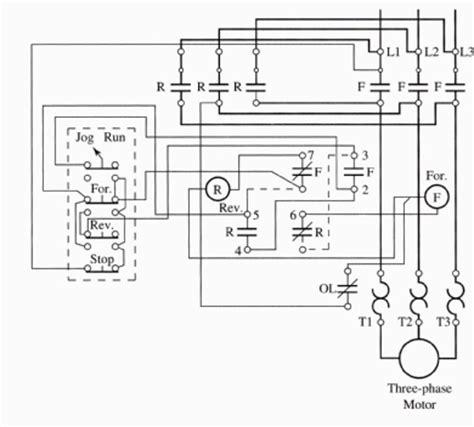 forward wiring diagram 3 phase motor style