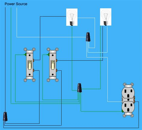 wiring two switches in one box wiring free engine image