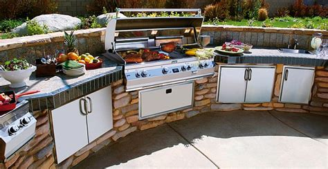 Buy Kitchen Island Let S Eat Out Outdoor Kitchens Daily Mail Online