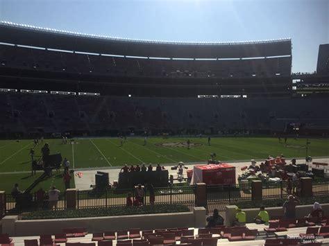 section j bryant denny stadium section j rateyourseats com