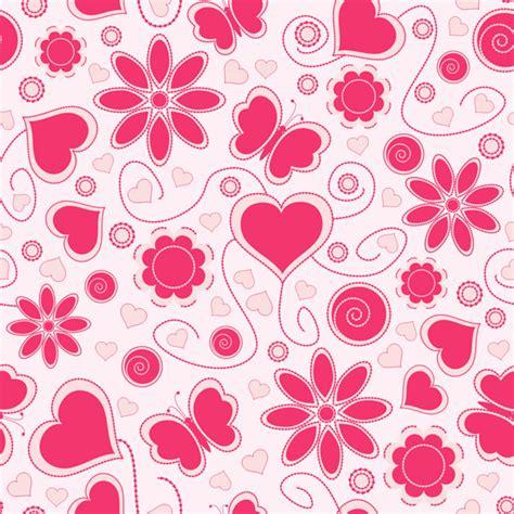 vector heart tutorial cute hearts background vector free vector 4vector