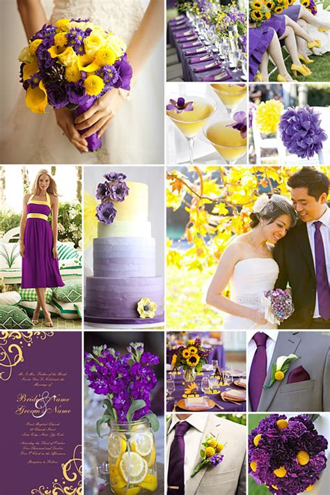 purple and yellow inspiration