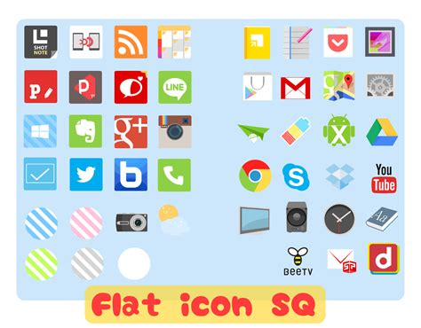 icons for android phones flat icon sq for android phones by ma11sv on deviantart