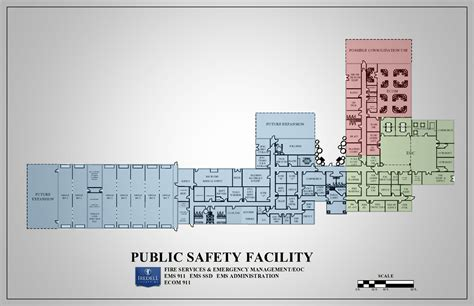 public building floor plans public safety complex iredell county nc